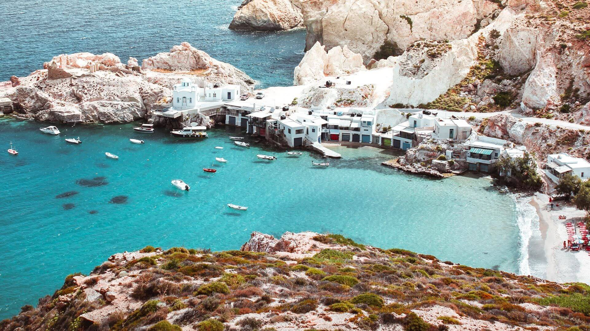 Milos apartments, Milos rooms for rent