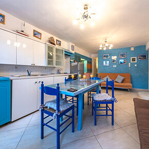 Apartments in Milos with full equiped kitchen